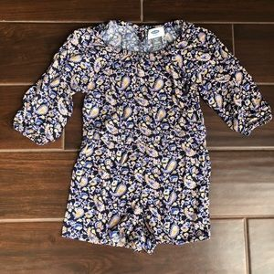 Floral Romper from Old Navy